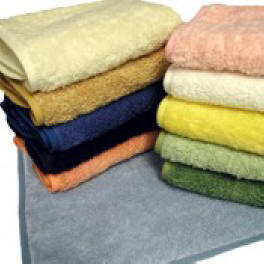 Color Towels -Ivory, Sand, Royal, Navy, Salmon, Wedgewood, Forest, Moss, Sun Yellow, White, Pink