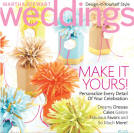 See us in the new issue of Martha Stewart Weddings!
