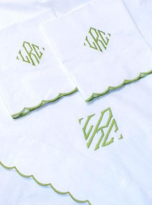 Pique and Sheeting-Customize to Your Color-Monogram Optional