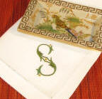 Signature Paulina Monogrammed Table Linens