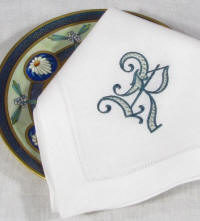 Signature Rowan Monogrammed Table Linens