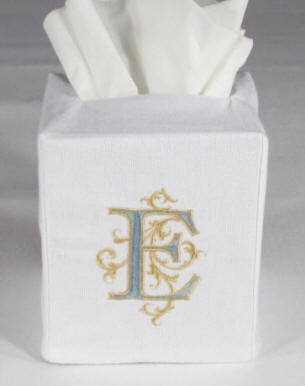 Monogrammed Tisse Box Covers-Great Gift!