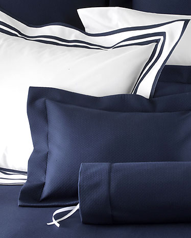 Elliot Pique Bed Covers, Duvet Covers and Shams